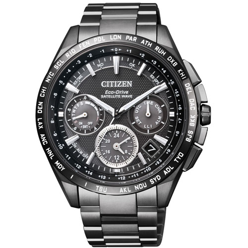 シチズン アテッサ CC9017-59E CITIZEN ATTESA エコ・ドライブGPS衛星電波 F900 ダブルダイレクトフライト ブラック メンズ腕時計 【長期保証5年付】