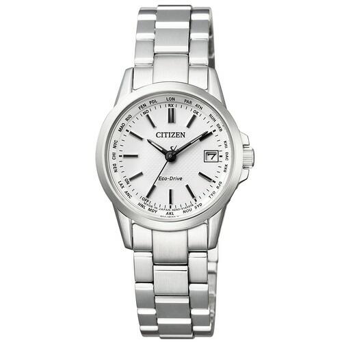 シチズン コレクション EC1130-55A エコドライブ シルバー レディース腕時計 【長期保証5年付】