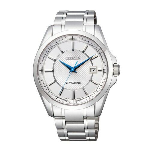 シチズン コレクション NB1040-52A メカニカル 自動巻 シルバー メンズ腕時計 【長期保証5年付】