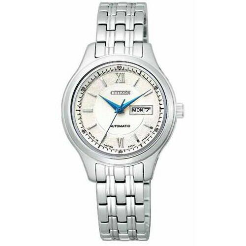 シチズン コレクション メカニカル シルバー レディース腕時計 PD7150-54A 【長期保証5年付】