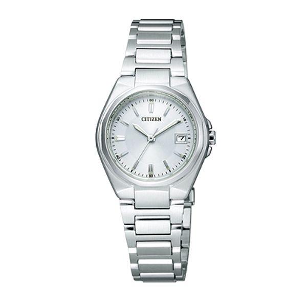 シチズン コレクション EW1381-56A エコ・ドライブ シルバー レディース腕時計 【長期保証5年付】