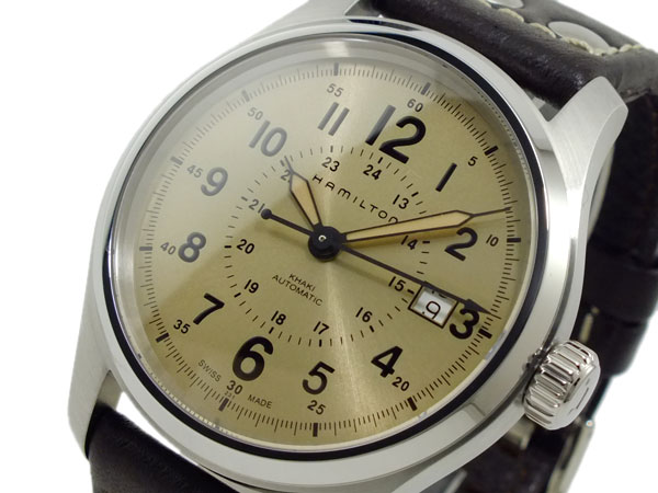HAMILTON ハミルトン H70595523 カーキフィールド オート 自動巻き 腕時計 【長期保証3年付】