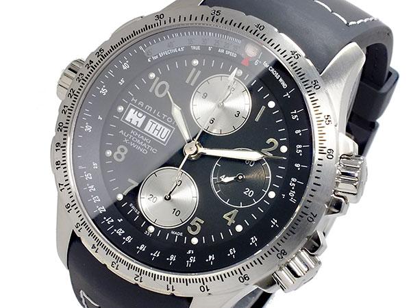 HAMILTON ハミルトン H77616333 カーキ KHAKI X-ウィンド 自動巻き メンズ 腕時計 【長期保証3年付】