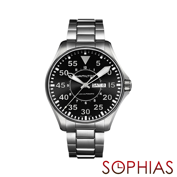 HAMILTON ハミルトン H64715135 腕時計 KHAKI AVIATION PILOT AUTO 自動巻 メンズ 【長期保証3年付】
