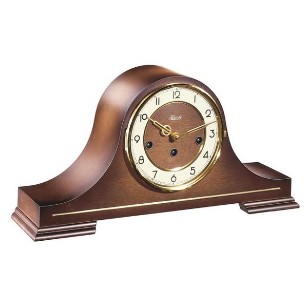 【正規輸入品】ドイツ ヘルムレ HERMLE 21092-030340 機械式置時計 ウォルナット [送料区分(大)]