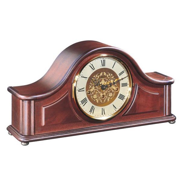 【正規輸入品】ドイツ ヘルムレ HERMLE 21142-070340 機械式置時計 マホガニー [送料区分(大)]