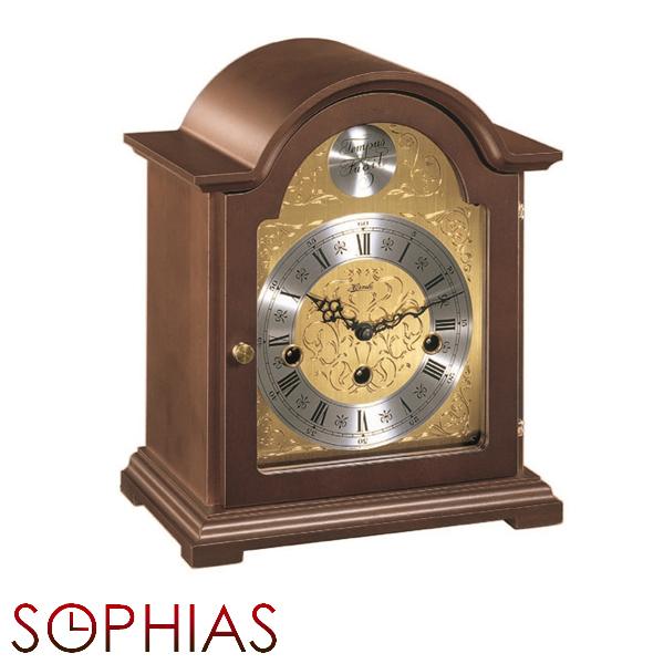 【正規輸入品】ドイツ ヘルムレ HERMLE 22511-030340 機械式置時計 ウォルナット [送料区分(大)]