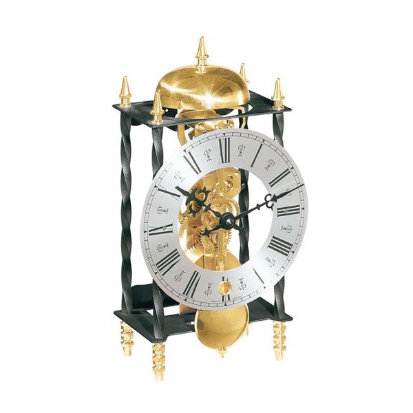 【正規輸入品】ドイツ ヘルムレ HERMLE 22734-000701 機械式置時計 ブラック×ゴールド [送料区分(大)]
