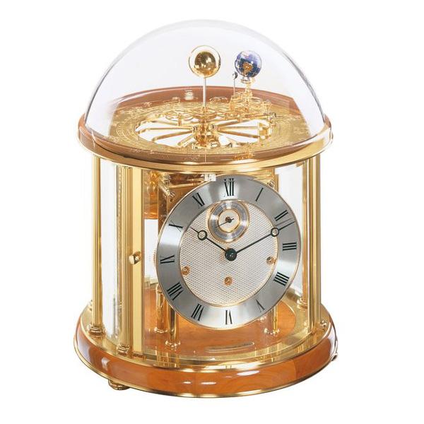 【正規輸入品】ドイツ ヘルムレ HERMLE 22805-160352 機械式置時計 テルリウム チェリーウッド [送料区分(大)]