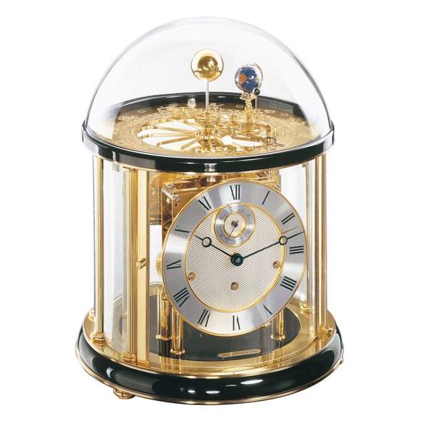 【正規輸入品】ドイツ ヘルムレ HERMLE 22805-740352 機械式置時計 テルリウム ブラック [送料区分(大)]