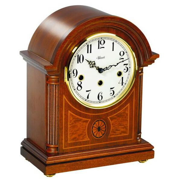 【正規輸入品】ドイツ ヘルムレ HERMLE 22827-070340 機械式置時計 マホガニー [送料区分(大)]