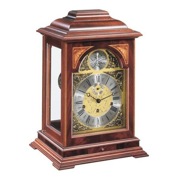 【正規輸入品】ドイツ ヘルムレ HERMLE 22848-070352 機械式置時計 マホガニー [送料区分(大)]
