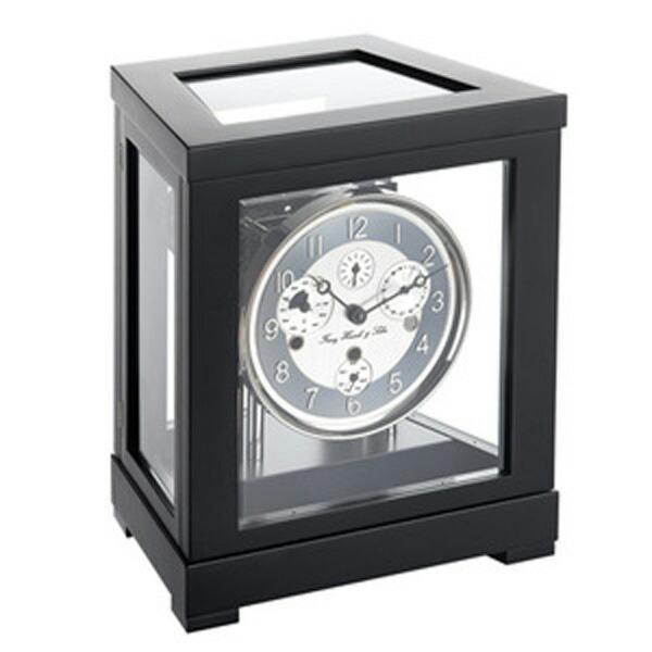 【正規輸入品】ドイツ ヘルムレ HERMLE 22966-740352 機械式置時計 ブラック [送料区分(大)]