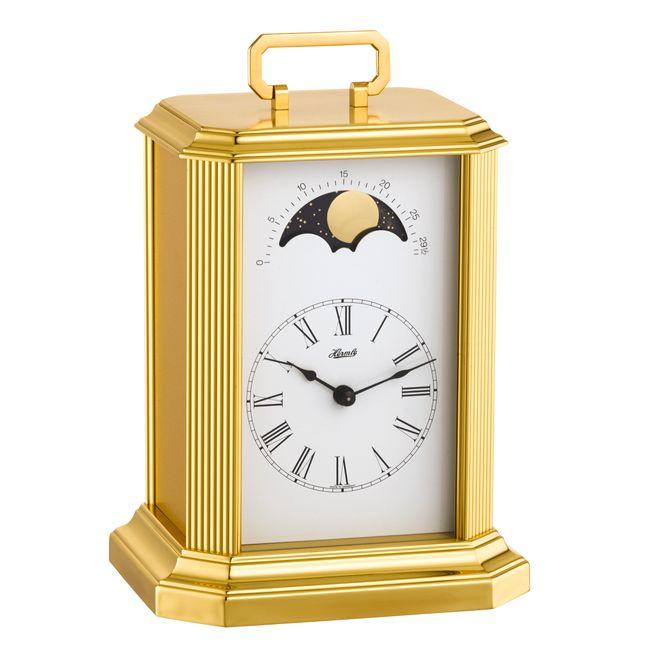 【正規輸入品】ドイツ ヘルムレ HERMLE 23010-000130 機械式置時計 ムーンフェイズ [送料区分(大)]