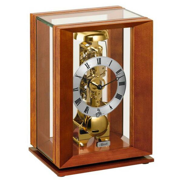 【正規輸入品】ドイツ ヘルムレ HERMLE 23011-160791 機械式置時計 チェリーウッド [送料区分(大)]
