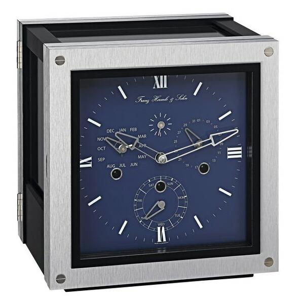 【正規輸入品】ドイツ ヘルムレ HERMLE 23045-Q80352 機械式置時計 ブルー [送料区分(大)]