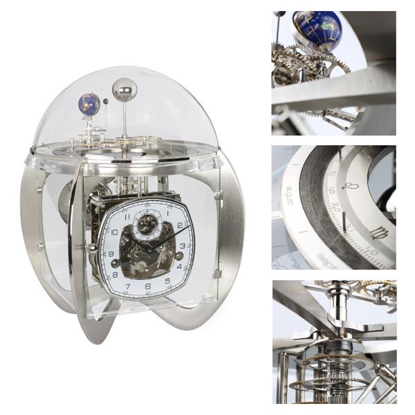 【正規輸入品】ドイツ ヘルムレ HERMLE 23046-000352 機械式置時計 [送料区分(大)]