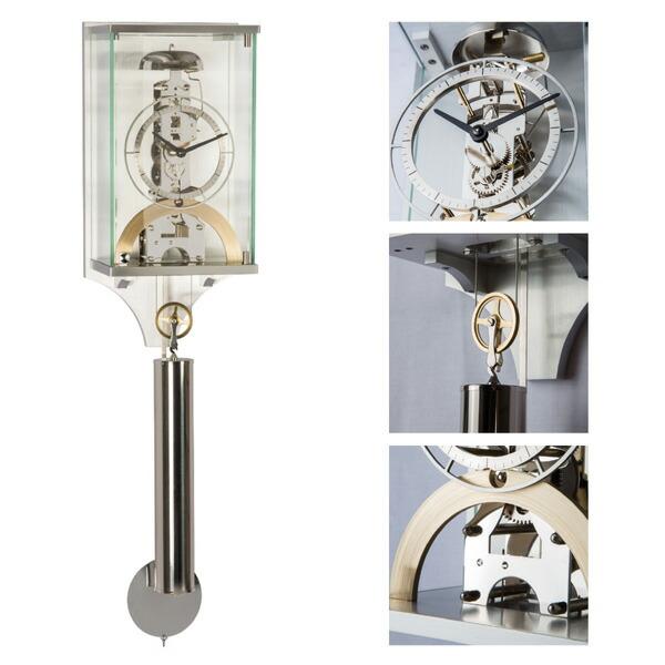 【正規輸入品】ドイツ ヘルムレ HERMLE 61019-000791 機械式掛時計 [送料区分(大)]