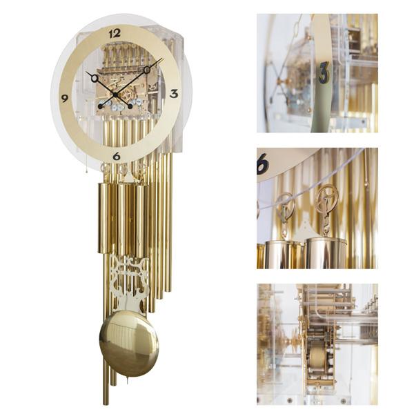 【正規輸入品】ドイツ ヘルムレ HERMLE 61020-001171 機械式掛け時計 [送料別途お見積り][送料区分(大)]