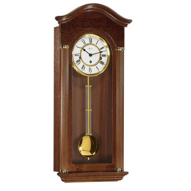 【正規輸入品】ドイツ ヘルムレ HERMLE 70628-030341 機械式掛け時計 ウォルナット [送料区分(大)]