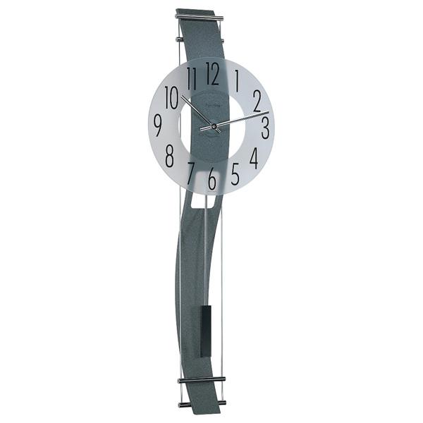 【正規輸入品】ドイツ ヘルムレ HERMLE 70644-292200 クオーツ掛け時計 アンスラサイト [送料区分(大)]