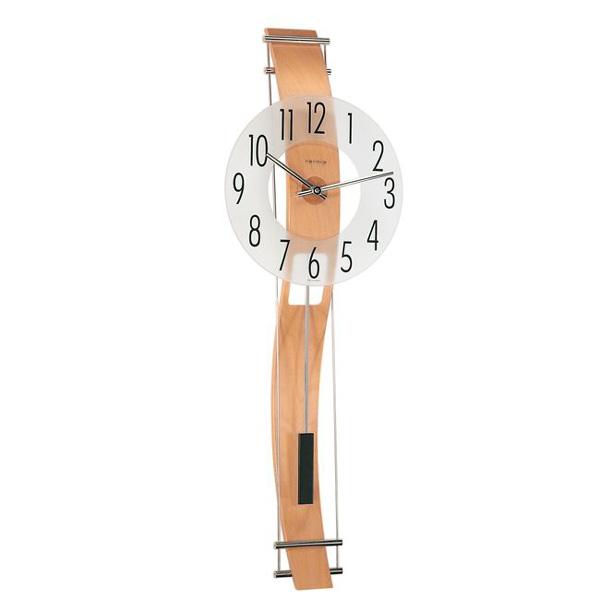【正規輸入品】ドイツ ヘルムレ HERMLE 70644-382200 クオーツ掛け時計 ブナ [送料区分(大)]