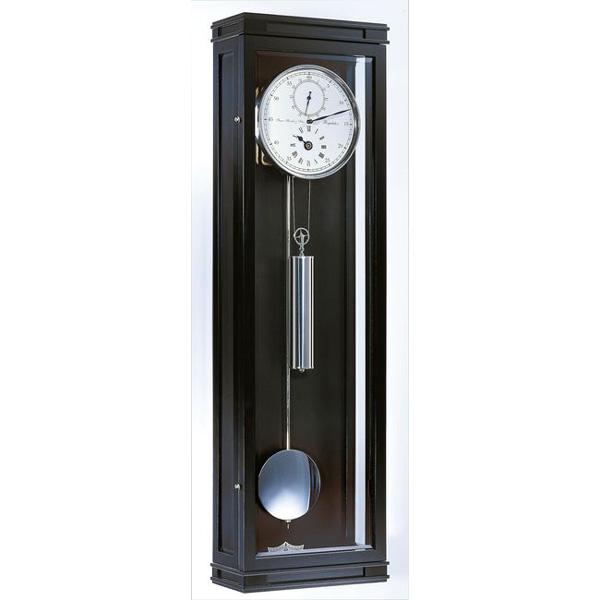 【正規輸入品】ドイツ ヘルムレ HERMLE 70875-740761 機械式掛け時計 ブラック [送料別途お見積り][送料区分(大)]