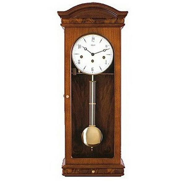 【正規輸入品】ドイツ ヘルムレ HERMLE 70930-030341 機械式掛け時計 ウォルナット [送料別途お見積り][送料区分(大)]