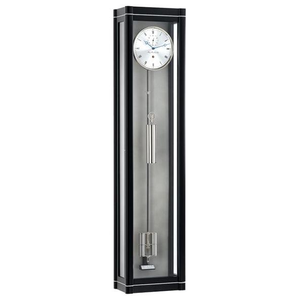【正規輸入品】ドイツ ヘルムレ HERMLE 70961-740761 機械式掛け時計 ブラック [送料別途お見積り][送料区分(大)]