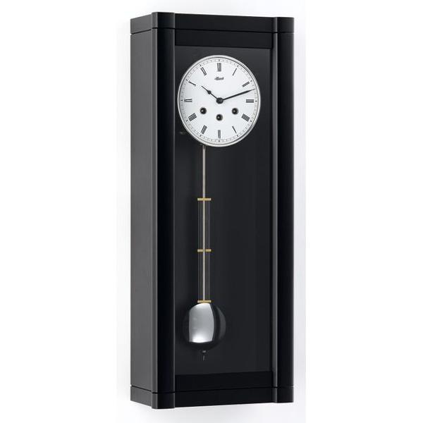 【正規輸入品】ドイツ ヘルムレ HERMLE 70963-740341 機械式掛け時計 ブラック [送料別途お見積り][送料区分(大)]