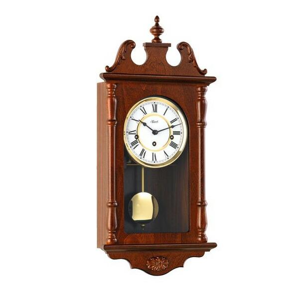 【正規輸入品】ドイツ ヘルムレ HERMLE 70964-030141 機械式掛け時計 14日巻 ウォルナット [送料区分(大)]