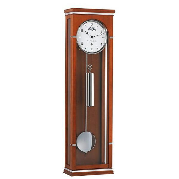 【正規輸入品】ドイツ ヘルムレ HERMLE 70978-160761 機械式掛け時計 チェリー [送料別途お見積り][送料区分(大)]