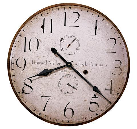 【正規輸入品】 アメリカ ハワードミラー 620-315 HOWARD MILLER ORIGINAL HOWARD MILLER IV クオーツ式掛け時計 [送料区分(大)]