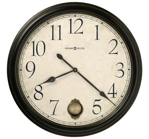 【正規輸入品】 アメリカ ハワードミラー 625-444 HOWARD MILLER GLENWOOD FALLS クオーツ式掛け時計 [送料区分(大)]