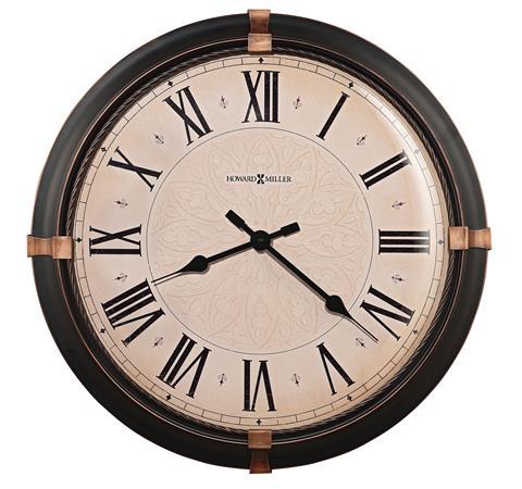 【正規輸入品】 アメリカ ハワードミラー 625-498 HOWARD MILLER ATWATER クオーツ式掛け時計 [送料区分(大)]