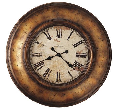 【正規輸入品】 アメリカ ハワードミラー 625-540 HOWARD MILLER COPPER BAY クオーツ式掛け時計 [送料区分(大)]