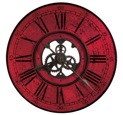 【正規輸入品】 アメリカ ハワードミラー 625-569 HOWARD MILLER BRASSWORKS II クオーツ式掛け時計 [送料区分(大)]