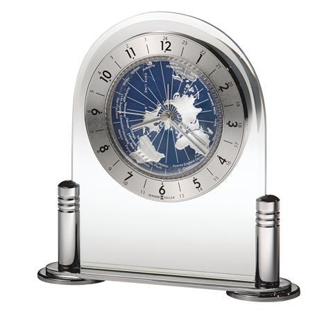 【正規輸入品】 アメリカ ハワードミラー 645-346 HOWARD MILLER DISCOVERER クオーツ置き時計