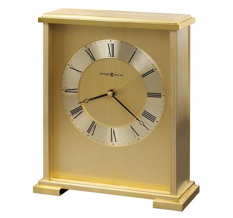 【正規輸入品】 アメリカ ハワードミラー 645-569 HOWARD MILLER EXTON クオーツ置き時計 [送料区分(大)]