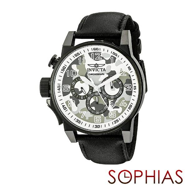 INVICTA インビクタ メンズ腕時計 20540 FORCE フォース カモフラージュ ミリタリー クロノグラフ ホワイト 【長期保証3年付】