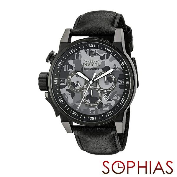 INVICTA インビクタ メンズ腕時計 20542 FORCE フォース カモフラージュ ミリタリー クロノグラフ グレー 【長期保証3年付】
