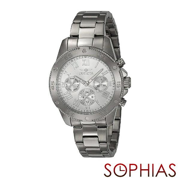 INVICTA インビクタ レディース腕時計 21730 WILD FLOWER ワイルドフラワー シルバー 【長期保証3年付】
