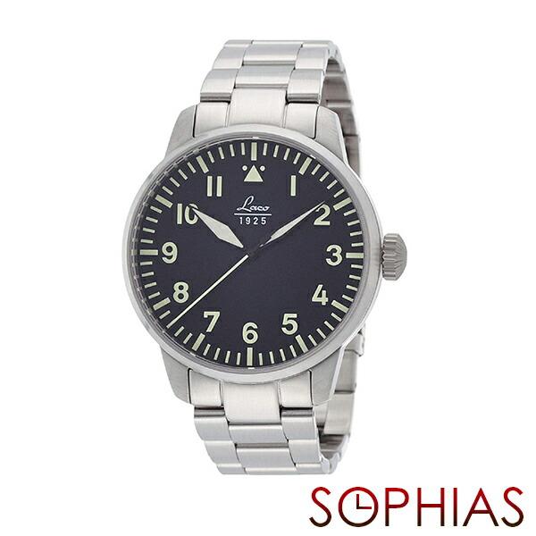 ラコ Laco 861895 腕時計 パイロット 21系自動巻シリーズ Rom ロム メンズ正規輸入品 【長期保証5年付】