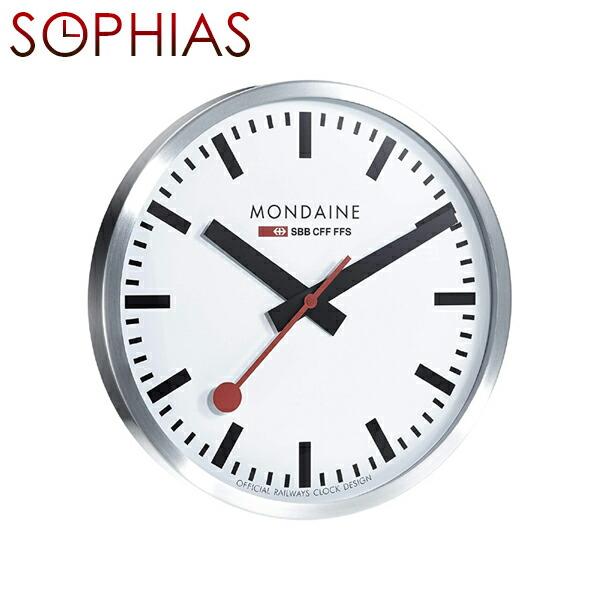 モンディーン MONDAINE A995.CLOCK.16SBB MD189 ウォールクロック 40cm ジャンボ壁掛け時計 [送料区分(大)]