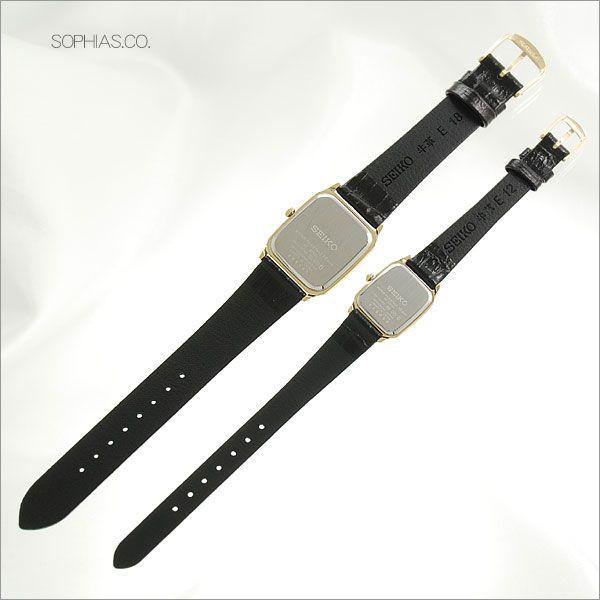 セイコー ペア腕時計 SCDP040 & SSDA080 スピリット クオーツ時計 ペアウォッチ 【長期保証10年付】