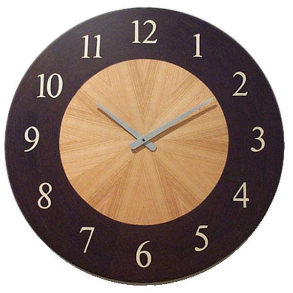 【正規輸入品】 イタリア ピロンディーニ ART030 Pirondini 木製掛け時計 寄木細工 Teseo 30