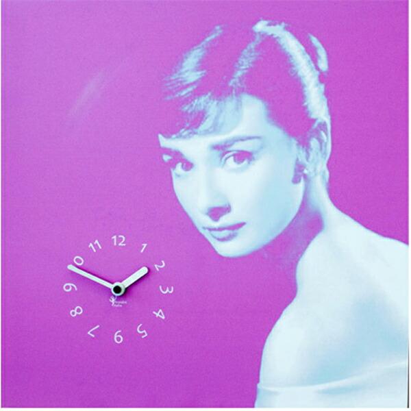 【正規輸入品】 イタリア ピロンディーニ ART058 Pirondini 木製掛け時計 Audrey 58