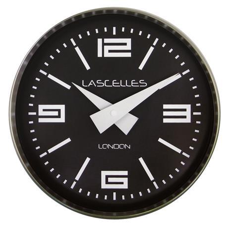 【正規輸入品】 イギリス ロジャーラッセル COSMO/CHROME ROGER LASCELLES 掛け時計 モダンクロック