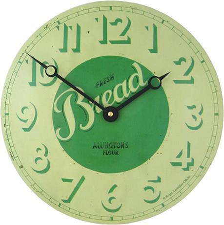 【正規輸入品】 イギリス ロジャーラッセル CT/BREAD ROGER LASCELLES 掛け時計 カフェクロック