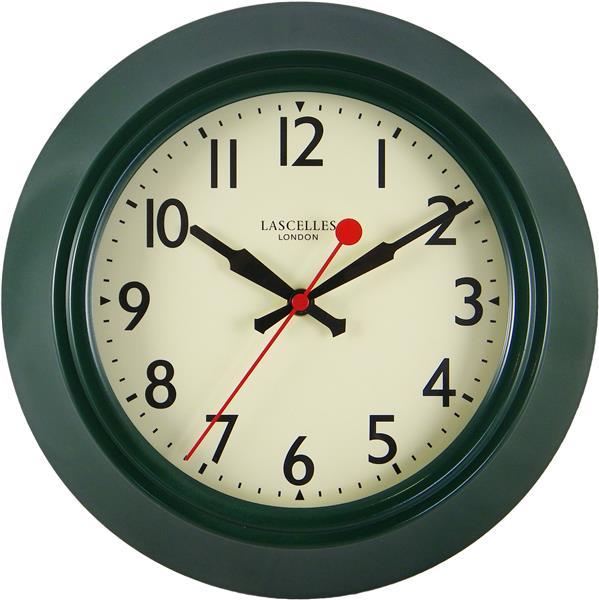 【正規輸入品】 イギリス ロジャーラッセル LON/LASC/GREEN ROGER LASCELLES 掛け時計 レトロ&デコクロック
